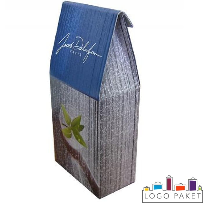 Крафт-пакет с печатью для фасовки шампуня