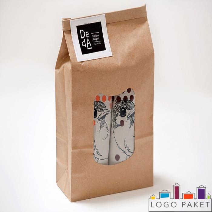 Крафт-пакет для фасовки шампуня