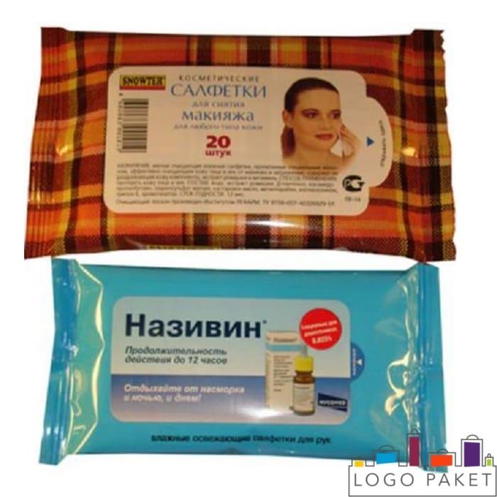 Печать на упаковках для влажных салфеток