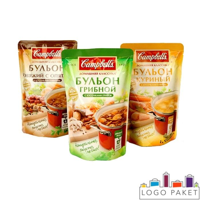 Реторт-пакеты для готовых блюд