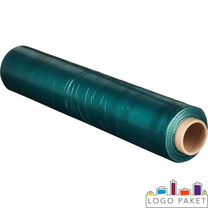 Зеленая упаковочная пленка стрейч