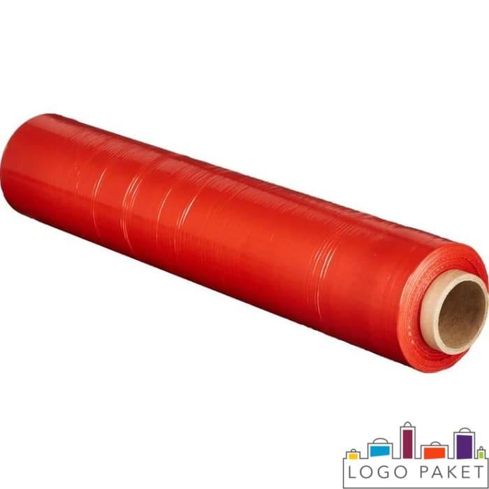 Красная упаковочная пленка стрейч