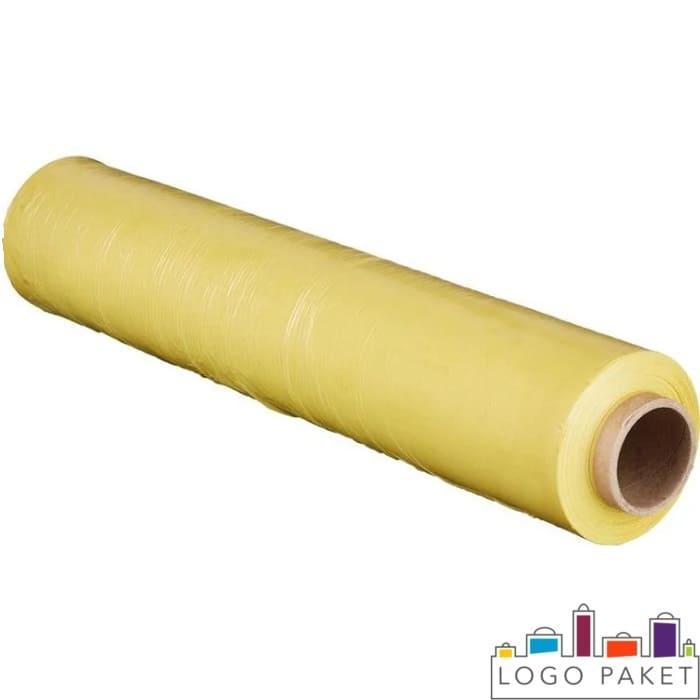 Желтая упаковочная пленка стрейч