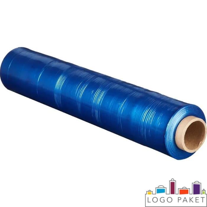 Синяя упаковочная пленка стрейч