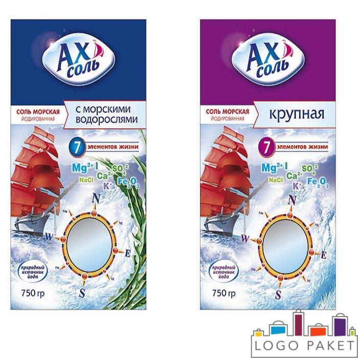 пакеты для фасовки морской соли для ванн