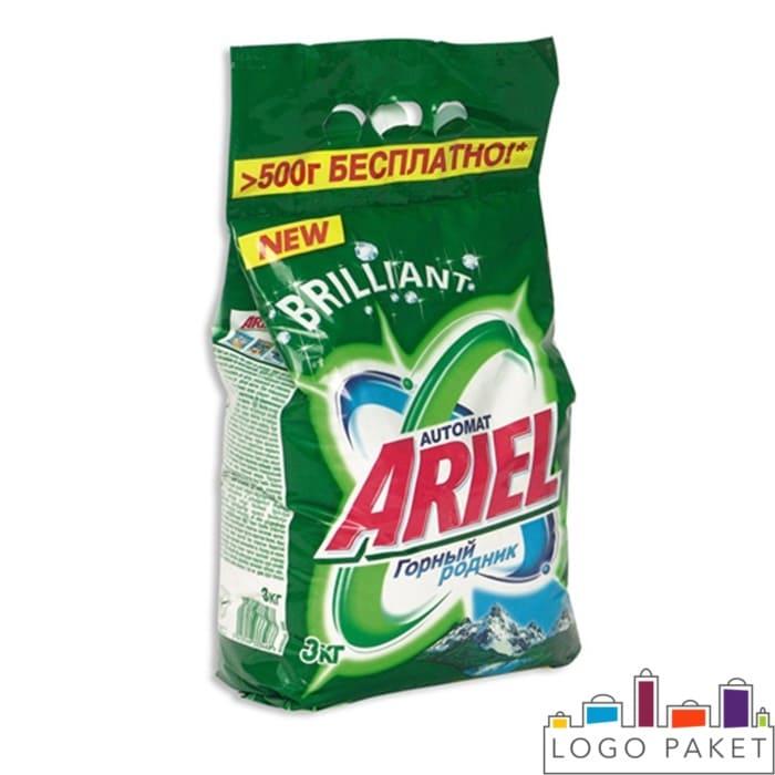 Пакет для фасовки стирального порошка Ariel