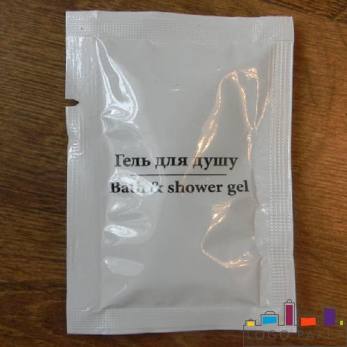 Сашет-пакетик для геля для душа