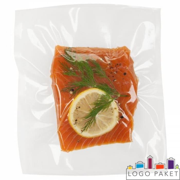 Ваакумный пакет с красной рыбой