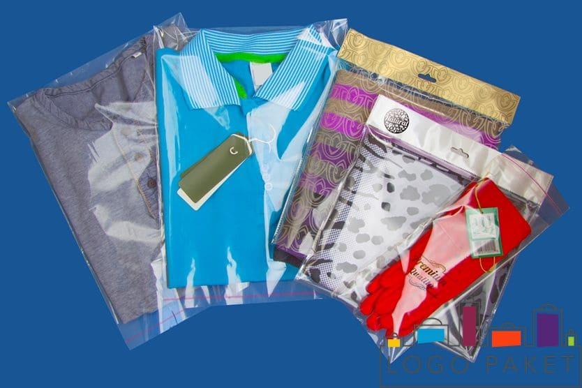 Полипропиленовые пакеты с клапаном для одежды