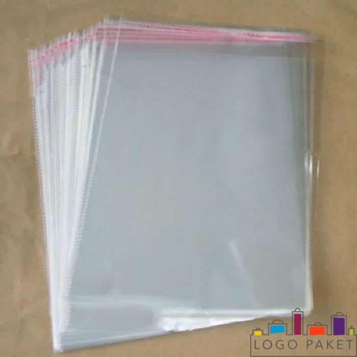 полипропиленовые пакеты с клеевым клапаном 11х52 см