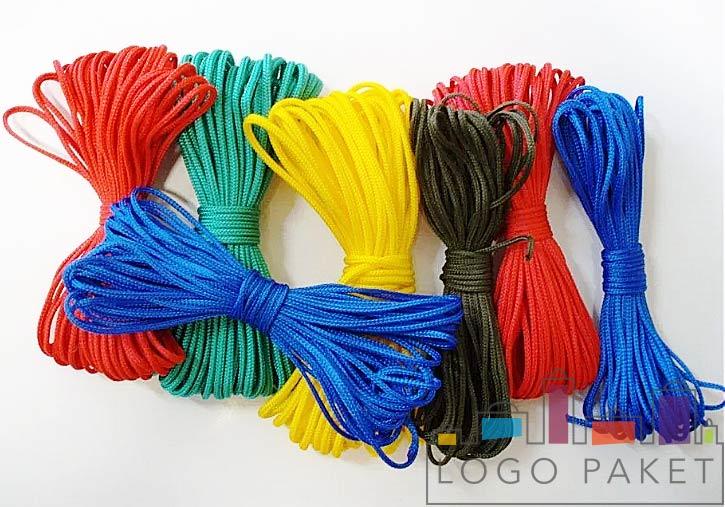 ассортимент цветов полипропиленового шнура