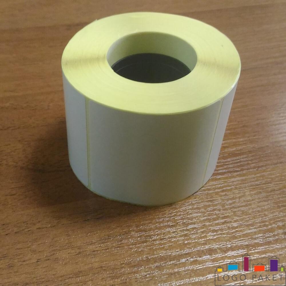 ролик термотрансферной этикетки без печати