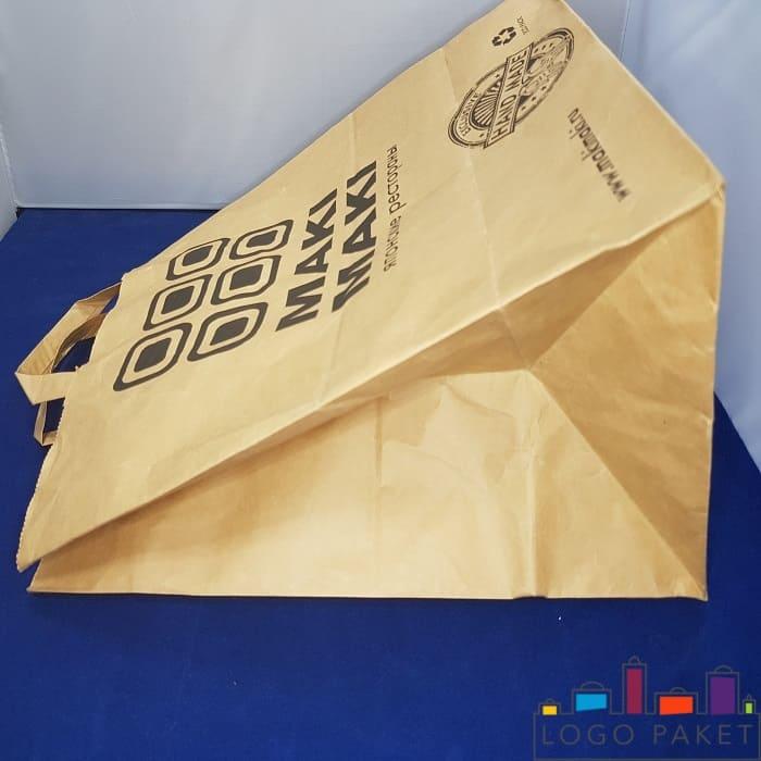 Крафт пакет с печатью