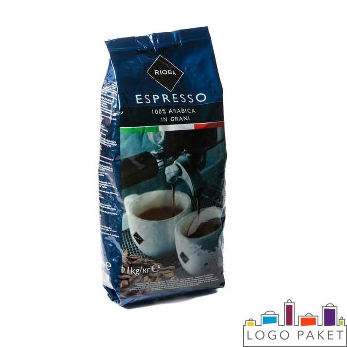 Пакет с печатью для кофе