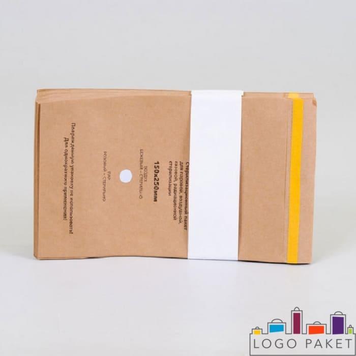 крафт пакеты для стерилизации размером 150 х 250 мм