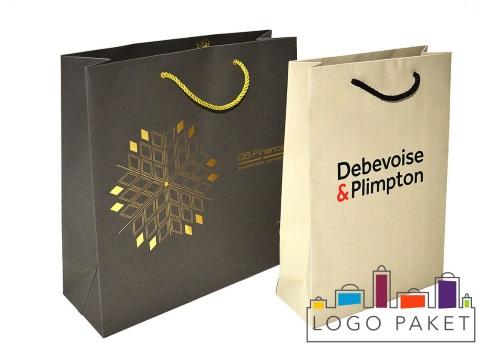 Пакеты из дизайнерской бумаги