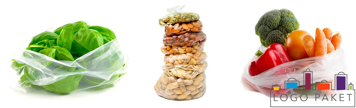 Продукты для хранения в полиэтиленовом пакете